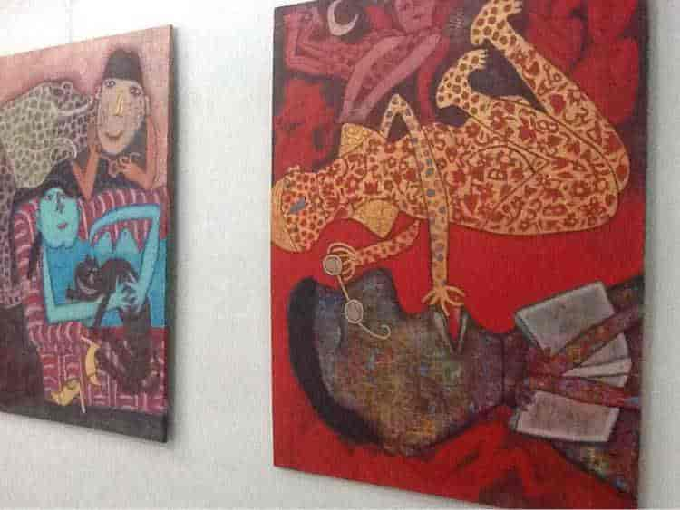 pristine art gallery