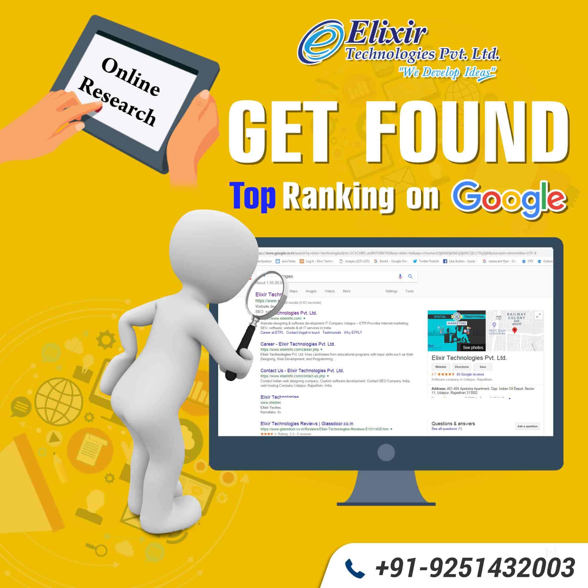 Elixir Technologies Pvt Ltd, Hiran Magri - Search Engine