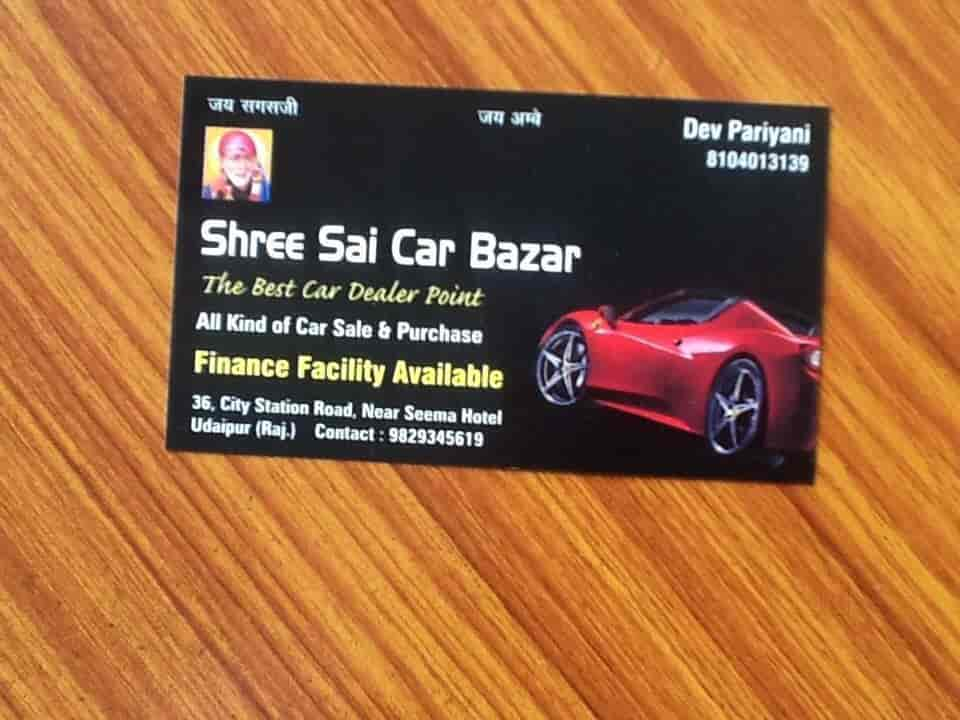 Shree Sai Car Bazar Udaipur City Second Hand Car Dealers In