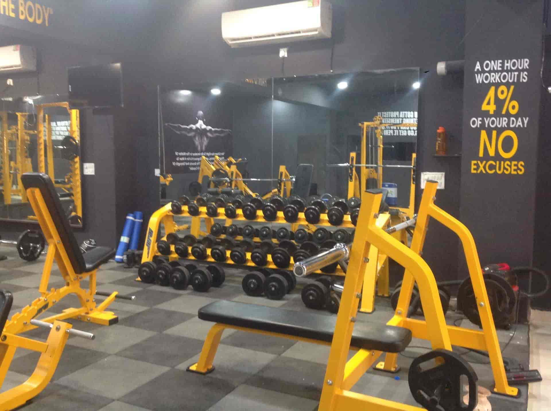 Fitness garage gym nanakheda gyms in ujjain justdial