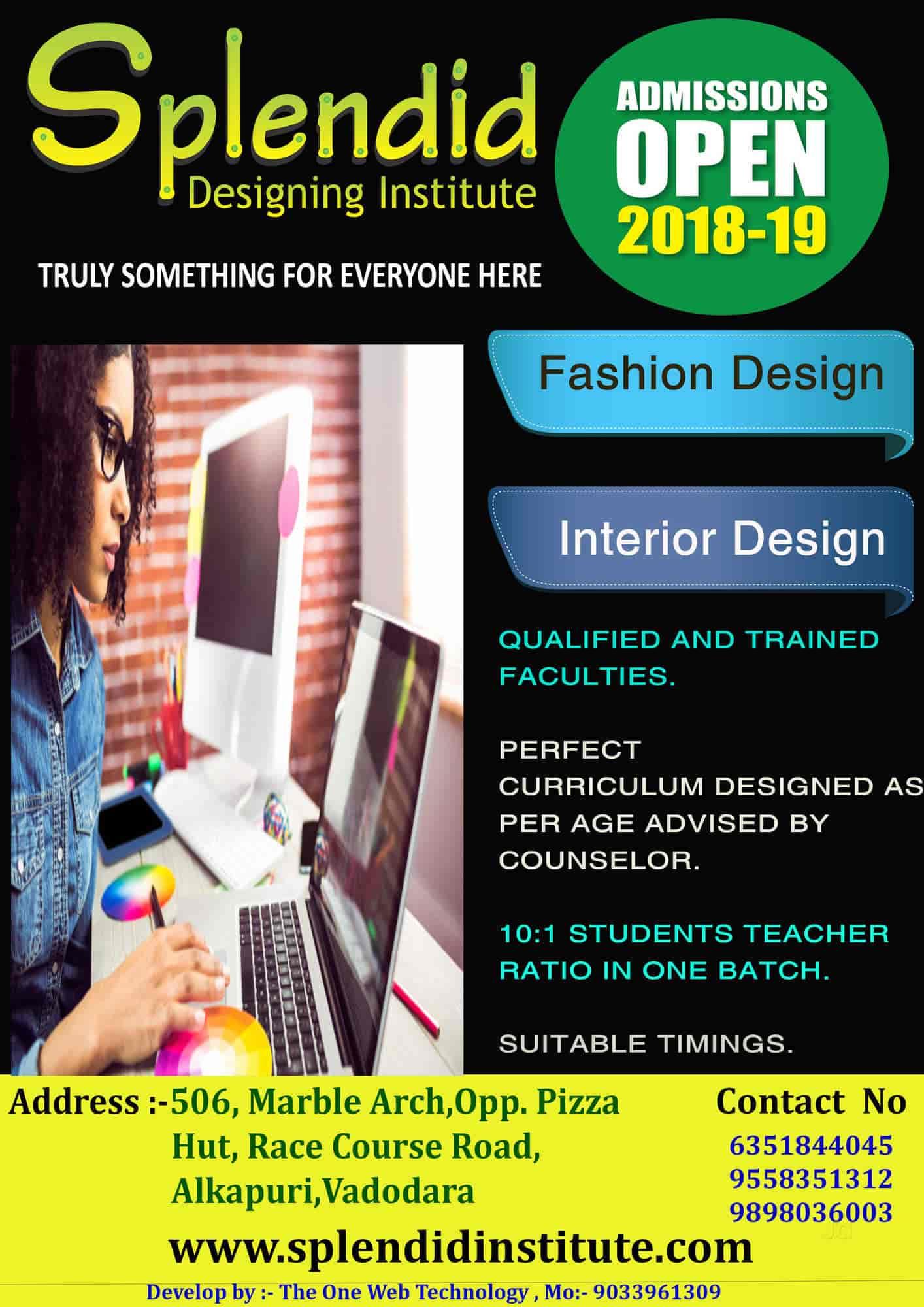 Splendid Designing Institute Alkapuri Computer Training Institutes In Vadodara Justdial