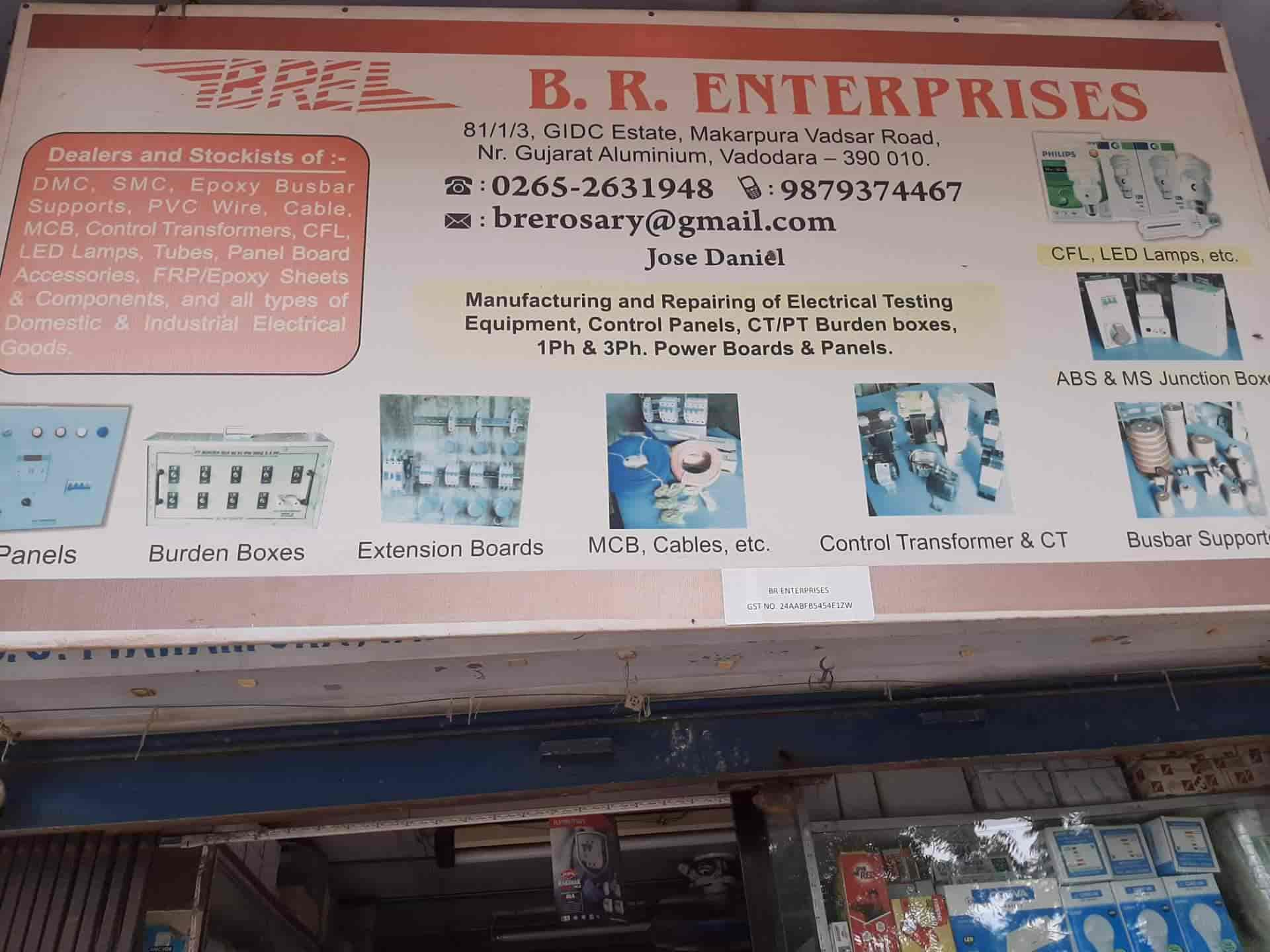 B R Enterprises, Makarpura Industrial Estate - Electricians