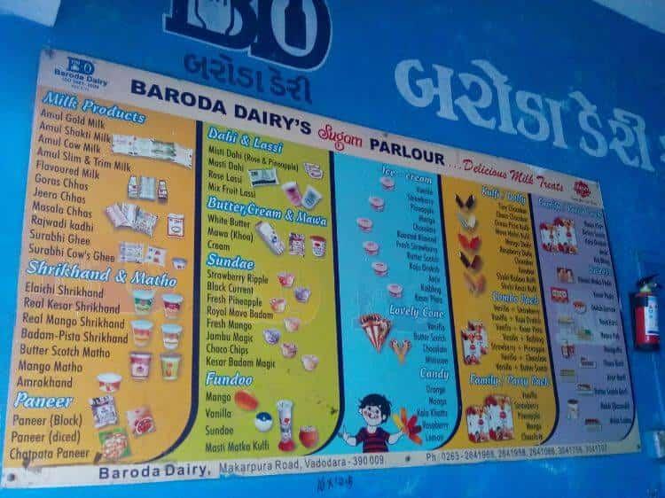 baroda dairy annual report