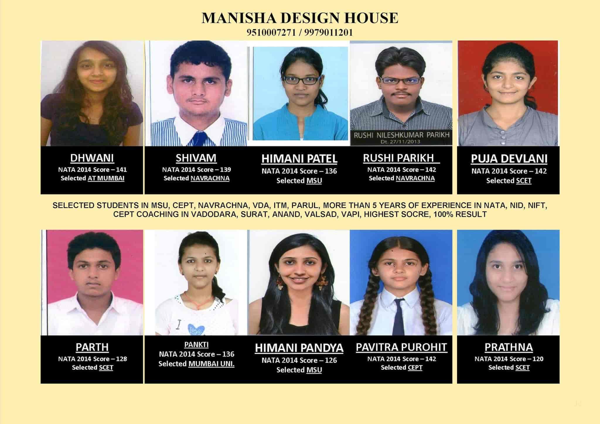 Manisha Design House Ellora Park Fashion Designing Institutes In Vadodara Justdial