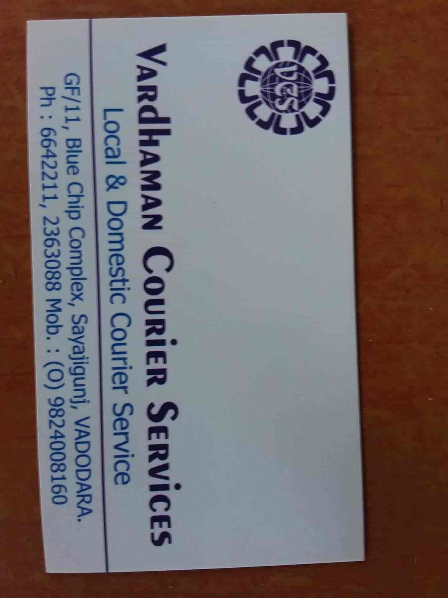 Vardhman Courier Services, Sayaji Ganj - Courier Services in