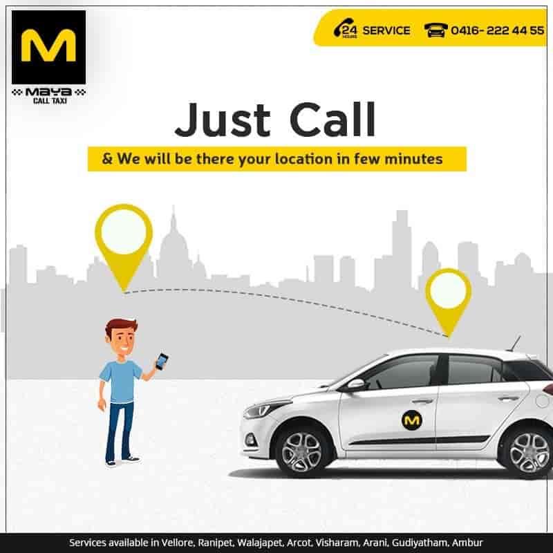 Maya Call Taxi, Krishna Nagar - Car Hire in Vellore - Justdial