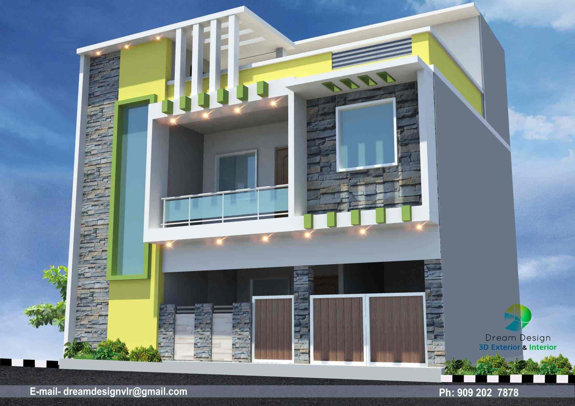 Dream Design Building Design Studio Photos Katpadi Vellore