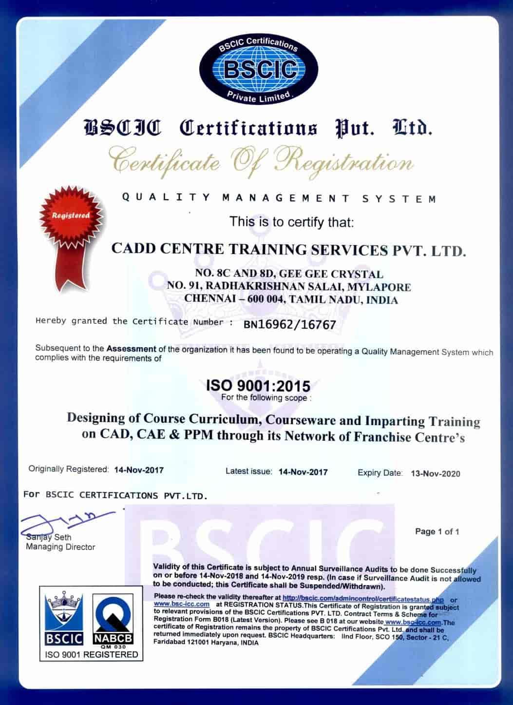 CADD CENTRE Training Services - Tiruppattur, Tirupattur
