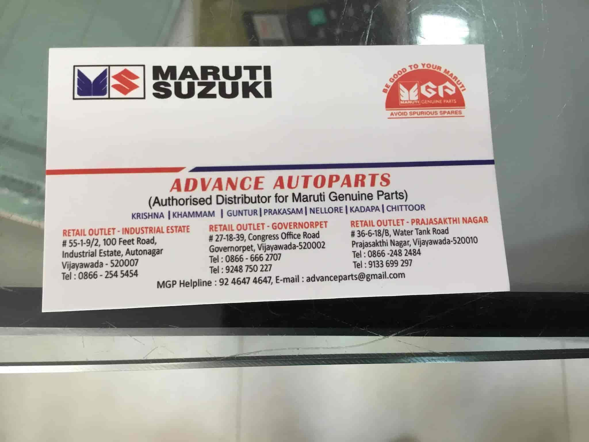 Advance Auto Parts Number >> Advance Autoparts Prajashakti Nagar Car Part Dealers In