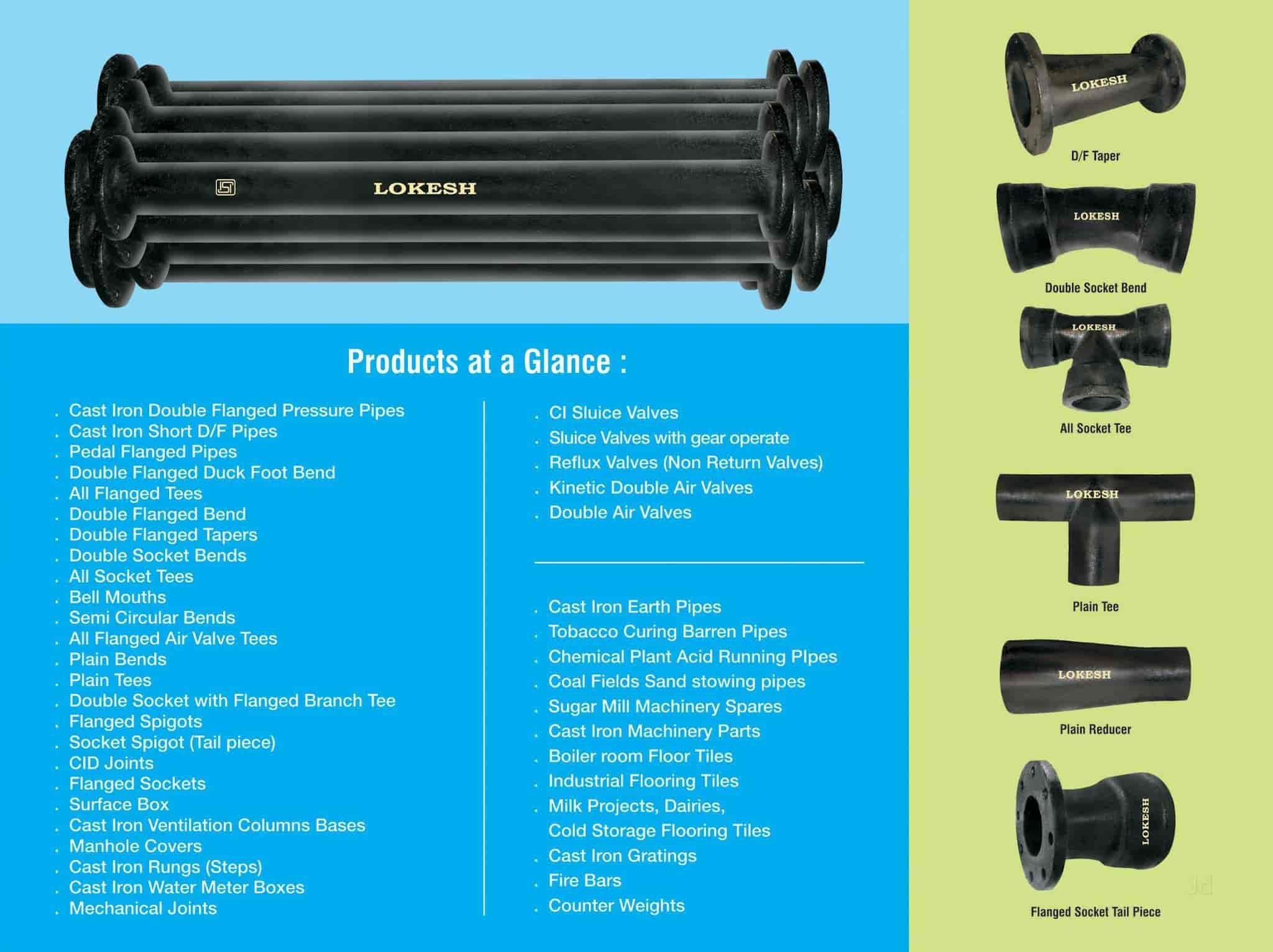 Lokesh Foundries Pvt Ltd, Nidamanuru - Cast Iron Valve Manufacturers ...