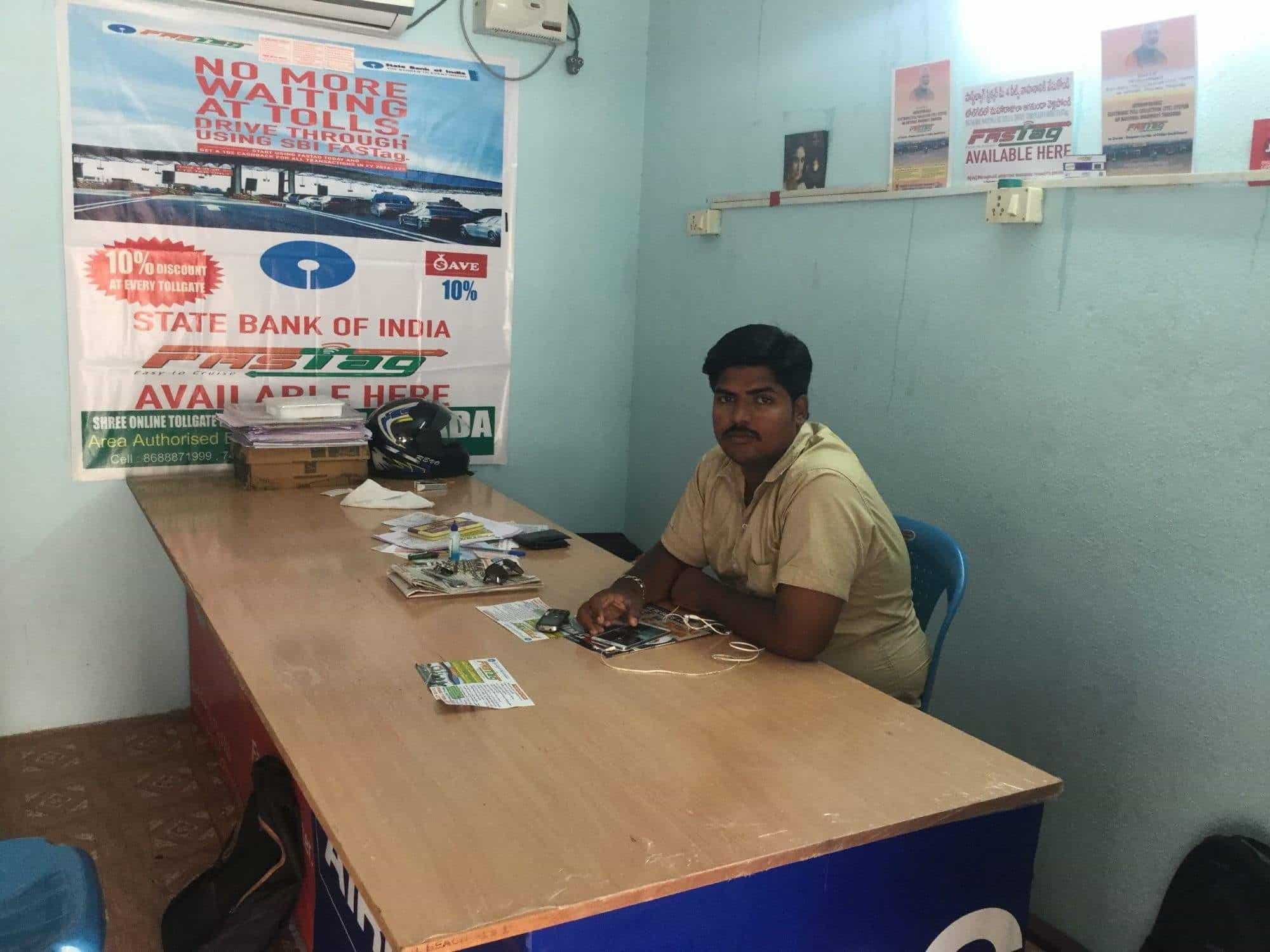 Shree Online Toll Gate Fast Tag Services, Patamata - Railway