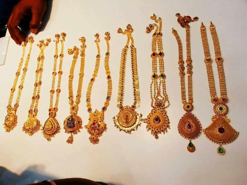 Sri Venkateswara Pearls Bentex One Gram Jewellery 1 Gram Gold