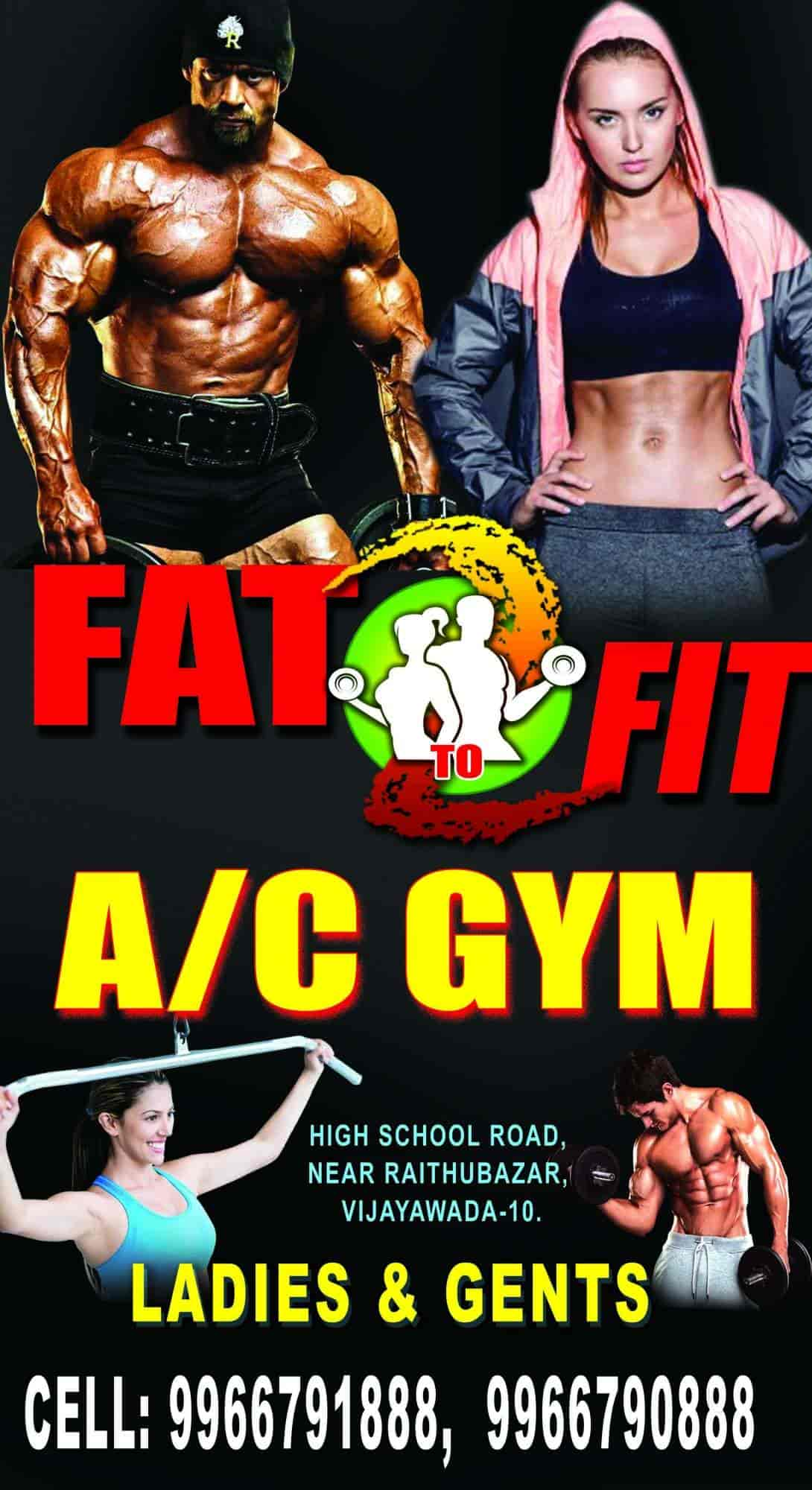Fat To Fit Gym, Patamata - Gyms in Vijayawada - Justdial