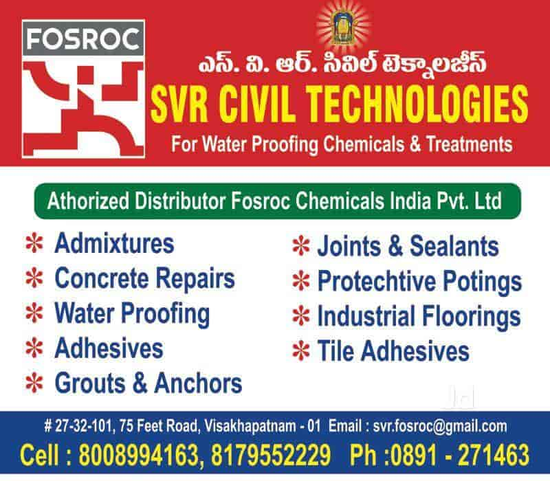 Fosroc Chemicals, Suryabagh - Waterproofing Contractors in