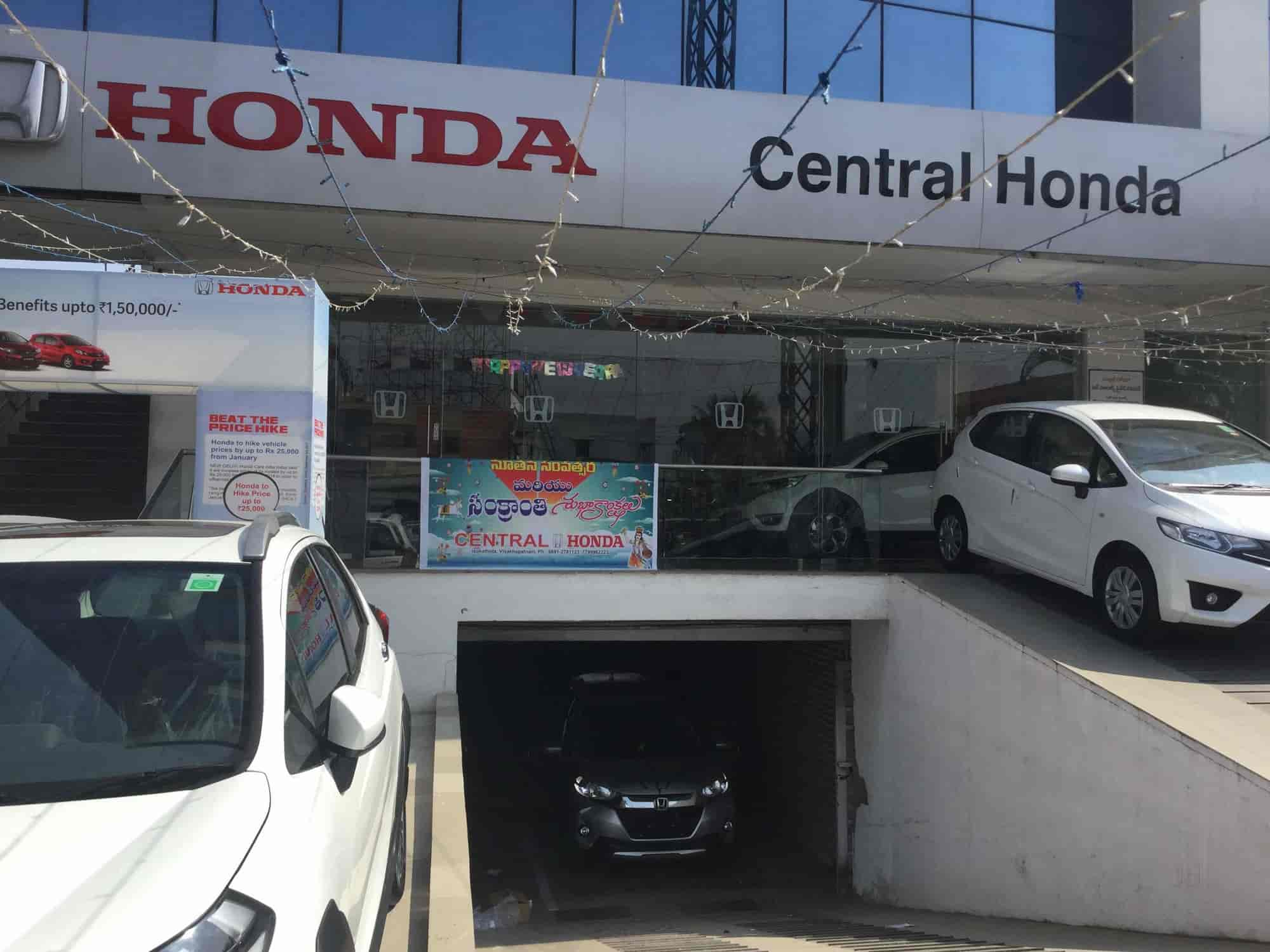 Central Honda Mvp Colony Car Dealers In Visakhapatnam Justdial