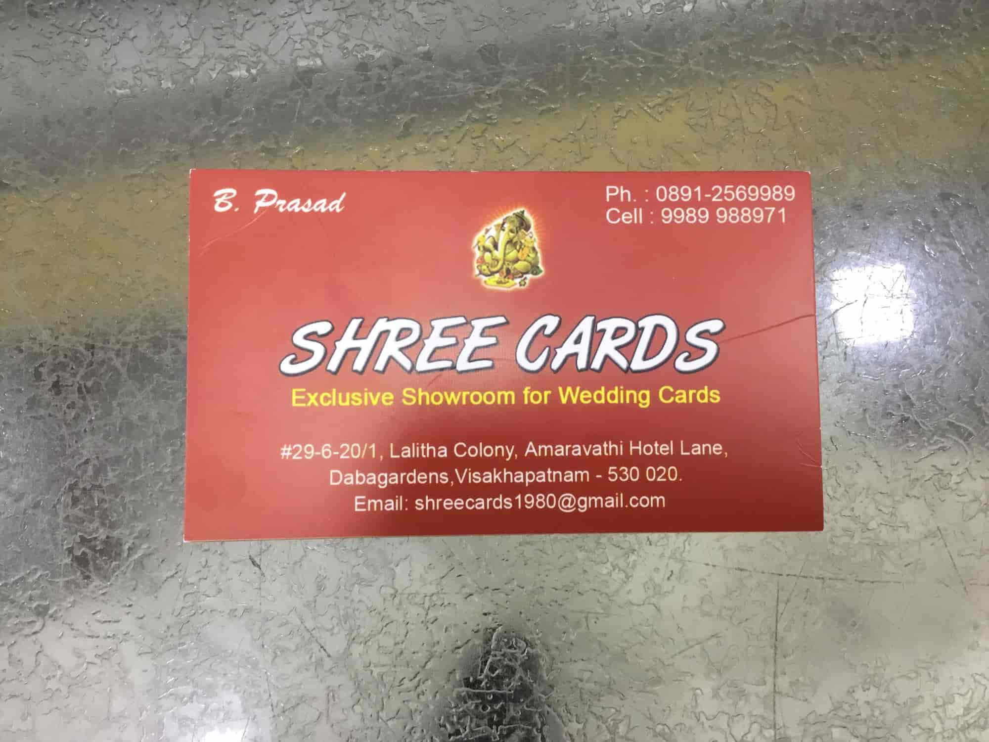 Shree Cards., Daba Gardens - Wedding Card Printers in Visakhapatnam ...