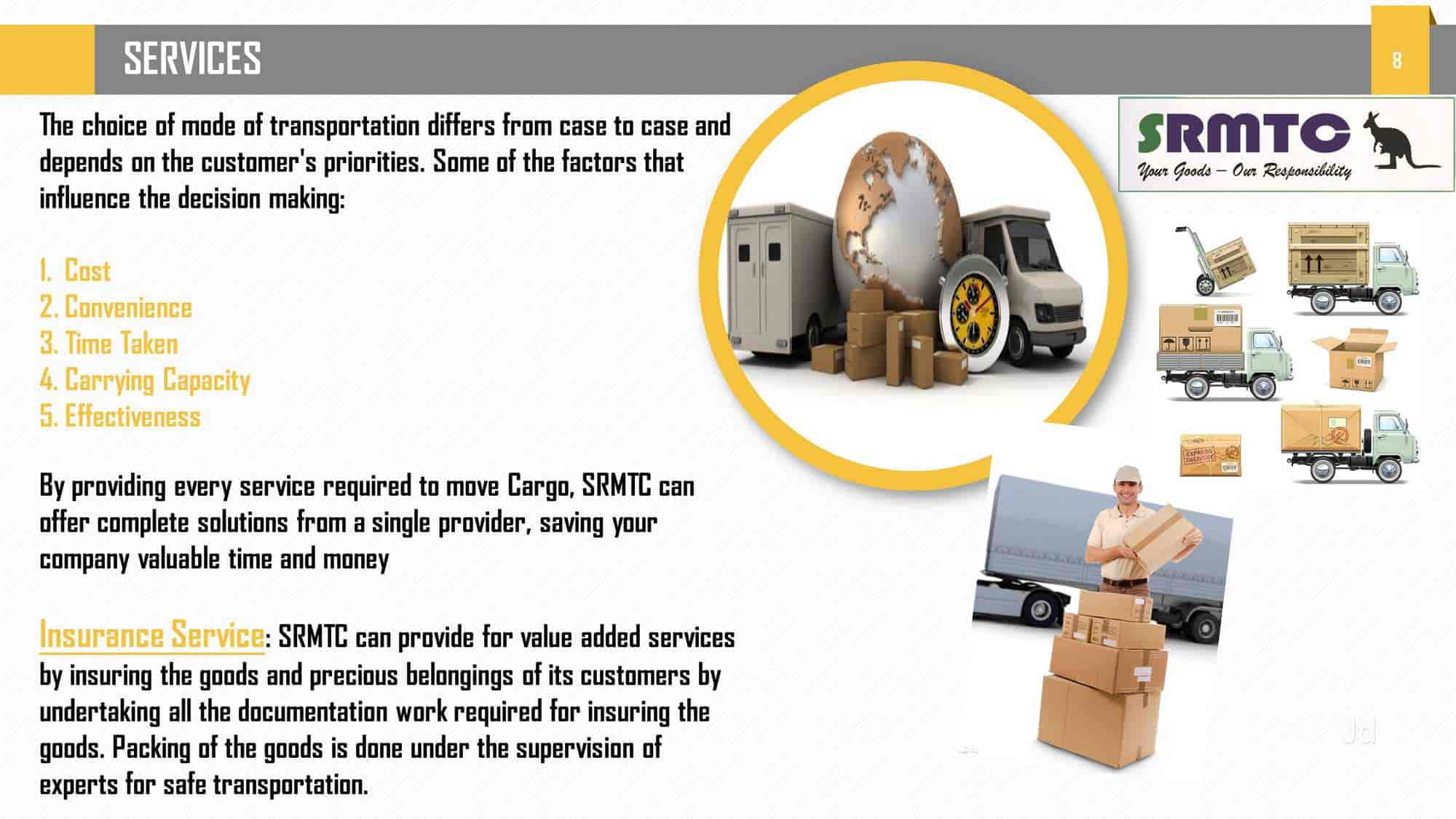 S R M T C MiniTransport Packages And Movers, Gajuwaka