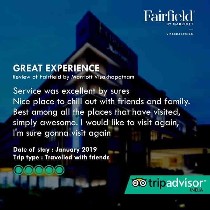 Fairfield By Marriott, Visakhapatnam Ho - 4 Star Hotels in