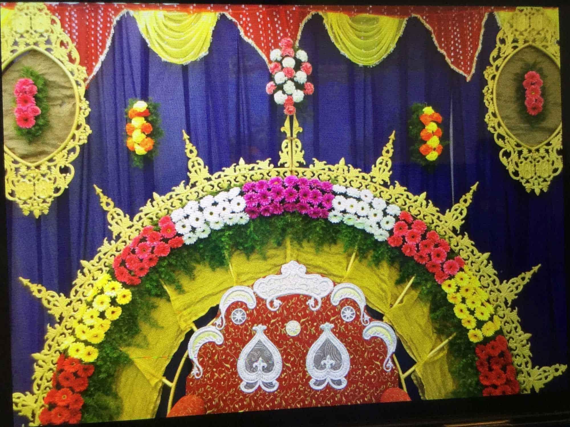 ... Satyanarayana Flower Decoration Photos, Hanamkonda, Warangal - Balloon Decorators ...