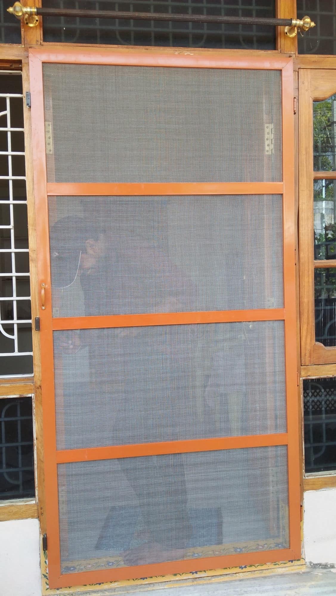 Siri Aluminium Mosquito Mesh Doors Hanamkonda Aluminium
