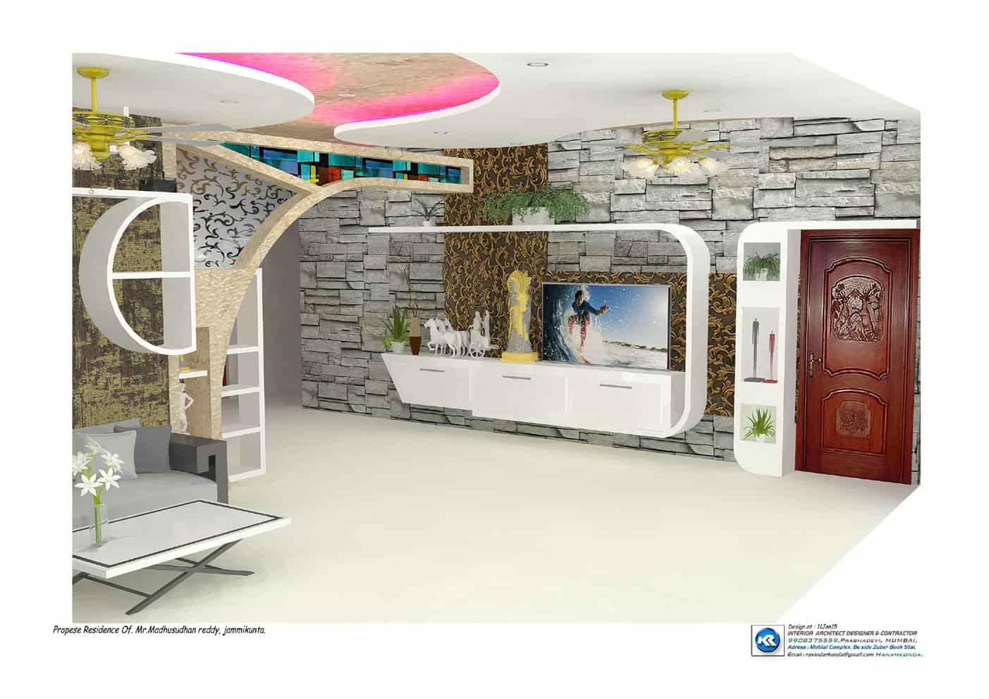 Interior Design Model K R Architect Designer Photos Hanamkonda Warangal