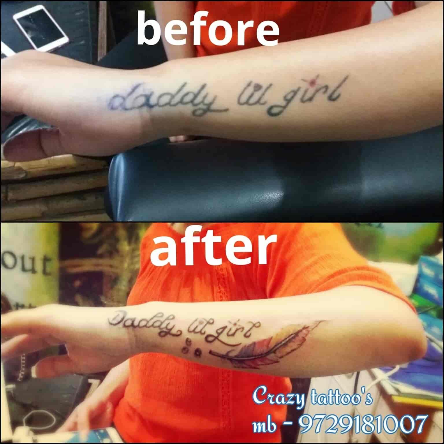 Crazy Tattoos Model Town Tattoo Parlours In Yamunanagar
