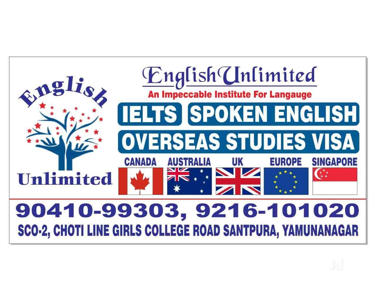English Unlimited, Yamunanagar HO - Education Consultants in
