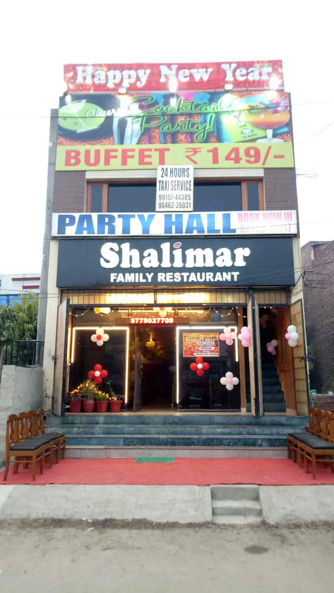 Front View Of Restaurant Shalimar A Family Photos Chandigarh North Indian