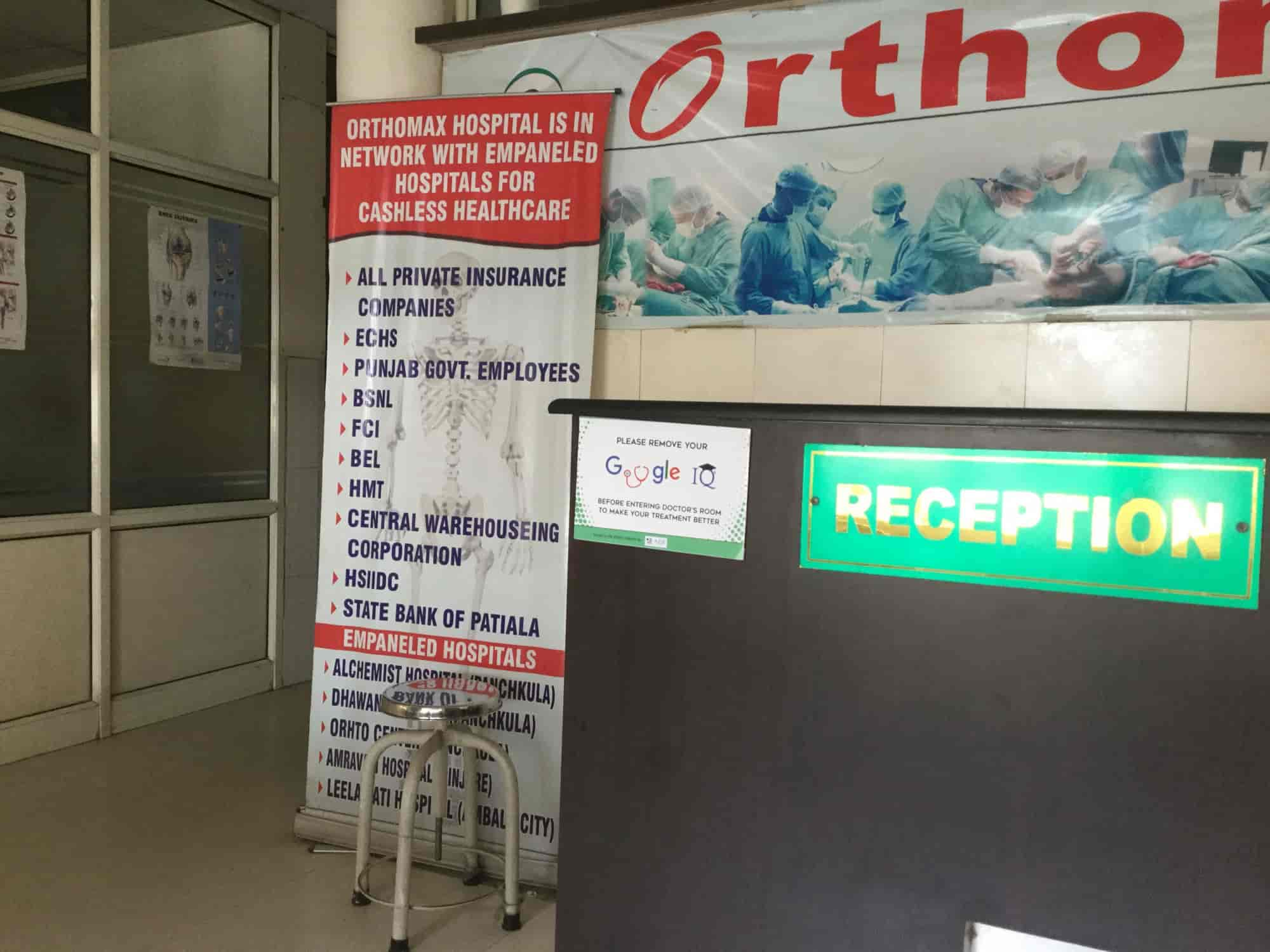 Orthomax Bone And Joint Hospital, Derabassi - Hospitals in