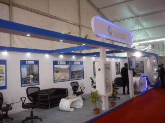 Exhibition Stall Makers : Exhibition booth fabricator exhibition stall designer