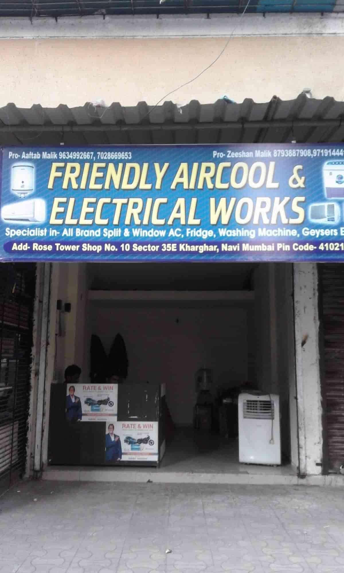 Friendly Aircool Electrical Works Photos, Kharghar, Navi