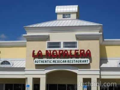 La Nopalera Mexican Restaurant 13 Near Hamilton Stmelrose Ave
